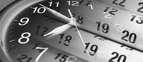 Ihre Waren oder Dokumente müssen zu einer festen Uhrzeit zugestellt oder abgeholt werden?